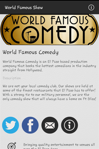 World Famous Comedy