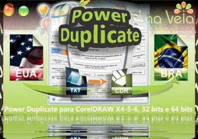 Power Duplicate Numeração sequencial Corel na veia