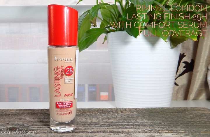 Lasting Finish 25H Foundation With Comfort Serum Full Coverage