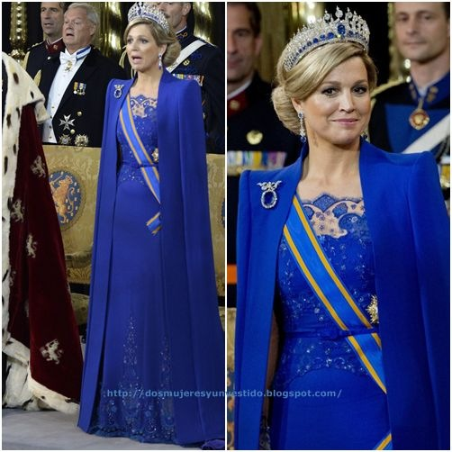 Queen Maxima Inauguration King Willem Alexander