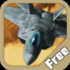 Flight Simulator - F22 Fighter Desert Storm icon