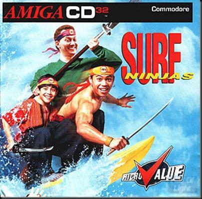 surf ninjas cd32
