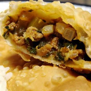 Puerto Rican Meat Patties.