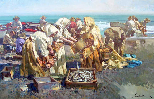 Eustaqui Segrelles - 12 Playa de la Malvarrosa2.jpg