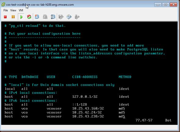 Clustering vCenter Orchestrator 5 5 using PostgreSQL