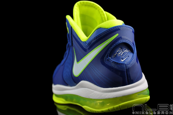 New Nike Lebron ST Low Sprite Light Blue Green White 534846-401