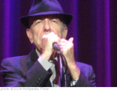 'Leonard Cohen' photo (c) 2009, Hollywata - license: https://creativecommons.org/licenses/by-nd/2.0/
