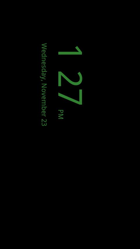 Desk Clock Plus- screenshot