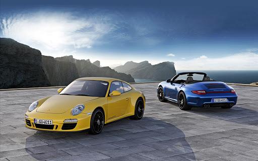 Porshe 911 Carrera 4 GTS Wide