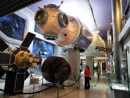 Muzeul spatial din Moscova