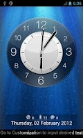 Screenshot of Anytouch Clock Free Theme