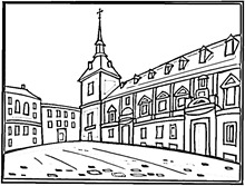 square-in-madrid-coloring-page