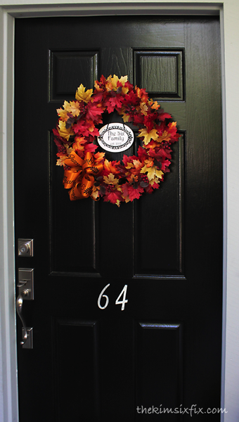 Personalized fall door
