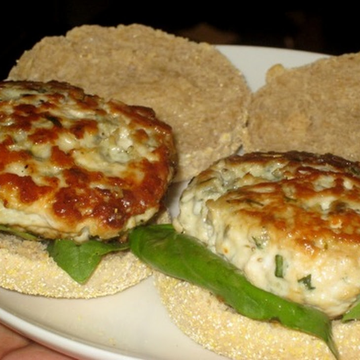 Chicken and Blue Cheese Burgers Recipe