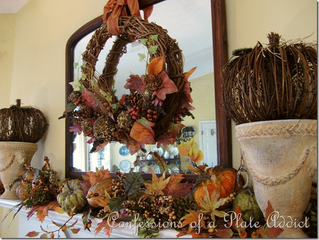 Fall mantel 2012