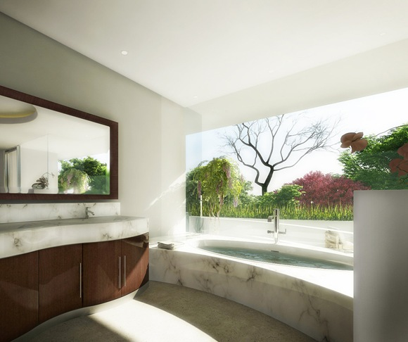 Panoramic-view-garden-marble-bathroom