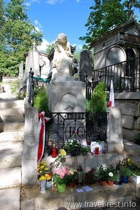 могила Шопена