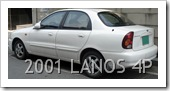 DAEWOO LANOS BERLINA 3 VOLUMI - 2001