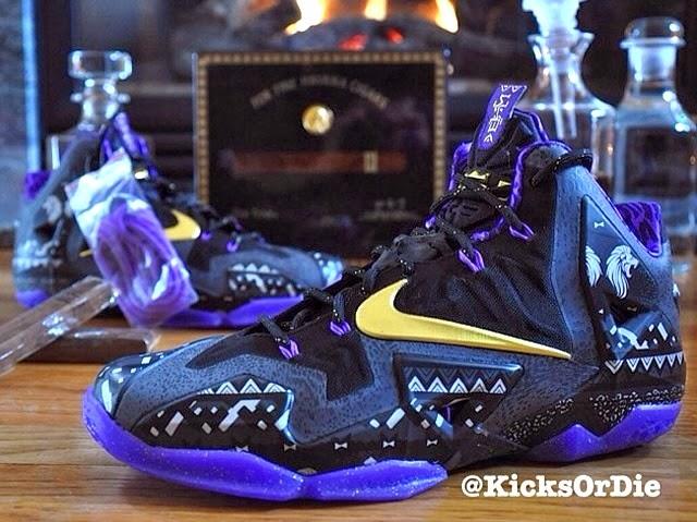 c92b9f231d9 646702-001 Anthracite Metallic Gold-Purple Venom. New Pics Upcoming  8220Black History Month8221 Nike LeBron 11 New Pics Upcoming 8220Black  History Month8221 ...