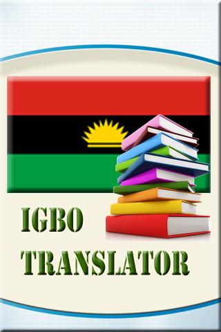Igbo English Translator