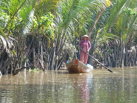 Imagini Vietnam: imagini idilice Delta Mekongului