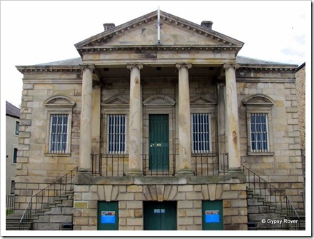 The old Customs House now housing the Maritime Museum, Lancaster.