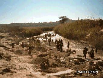 Les creuseurs artisanaux de Mutoshi à Kolwezi, Katanga, RDC