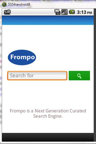 Frompo Mobile Search