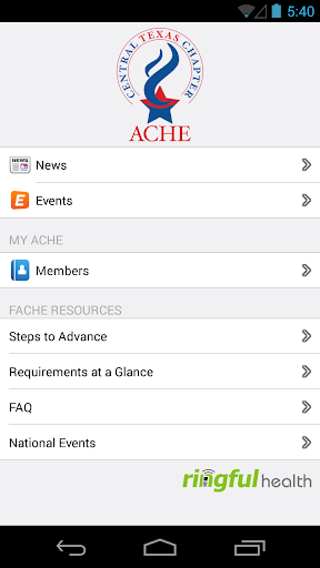 ACHE Central Texas Chapter