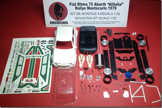 kit Fiat Ritmo 75 Abarth Alitalia 79