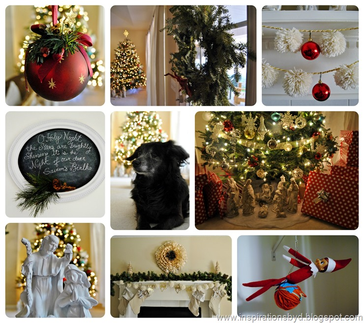Christmas Collage/ Inspirations by D