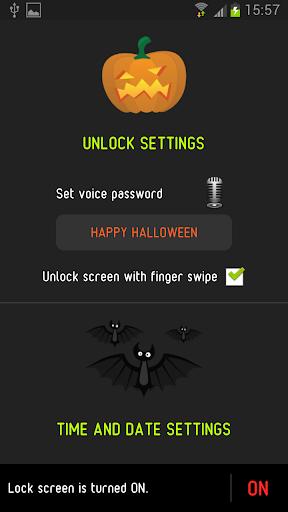 【免費工具App】萬聖節語音鎖屏-APP點子