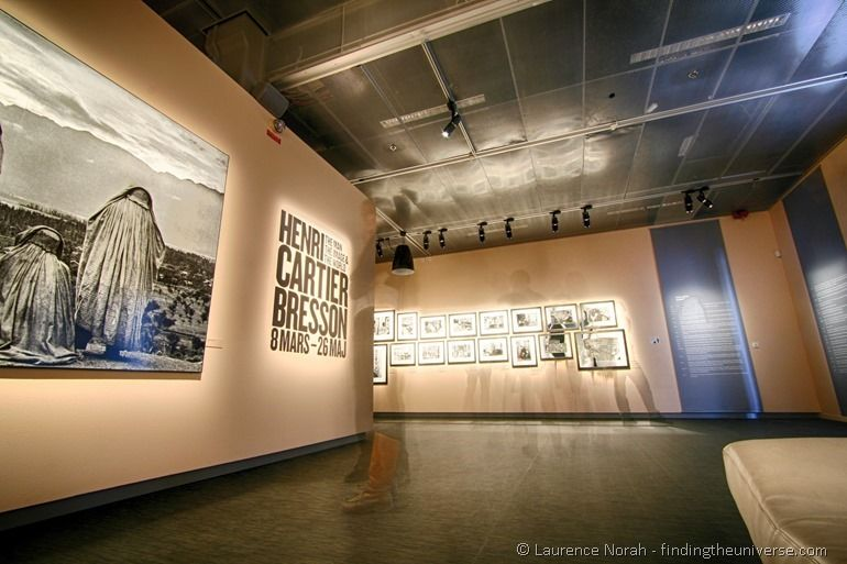 Henri Carter Bresson display fotografiska Stockholm sweden