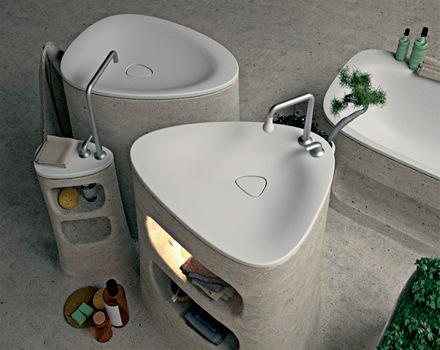 baños-modernos-lavabo-inodoro-bañera-de-diseño