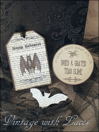 Halloween Tag and Box