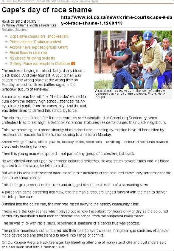 9498d747086 RACIAL VIOLENCE BREAKS OUT IN GRABOUW SOUTH AFRICA BETWEEN COLOUREDS AND  BLACKS FOREIGNERS MAR202012