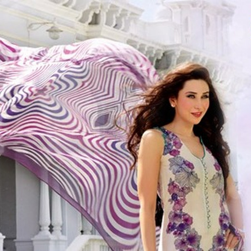 Crescent summer lawn collection 2013 by Faraz Manan