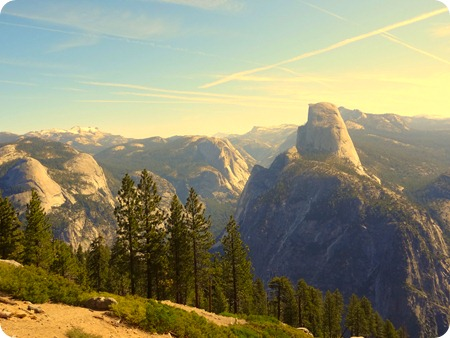 From Glacier Point lookout.