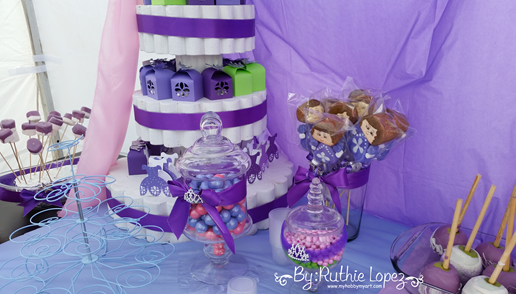 Silverware decoration - SofiaThe First - Birthday Party - Ruthie Lopez 3