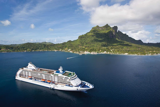Regent-Seven-Seas-Voyager-Tahiti - Let Seven Seas Voyager carry you to Tahiti, still one of the most beautiful spots on the planet.