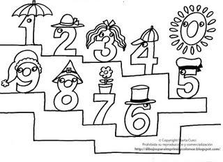 Dibujos Animados Infantiles Educativos Para Colorear