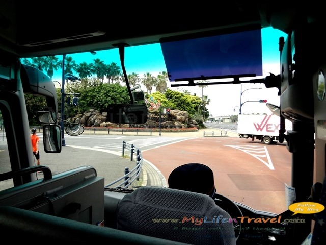 Disney Free shuttle bus
