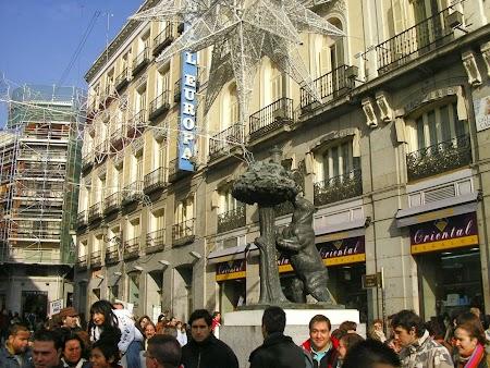 Ursul, simbolul Madridului
