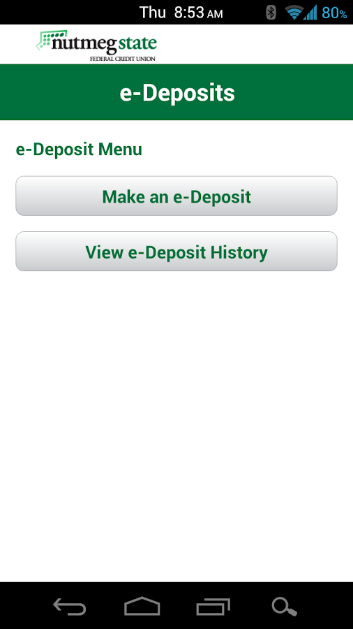 Nutmeg State FCU - screenshot