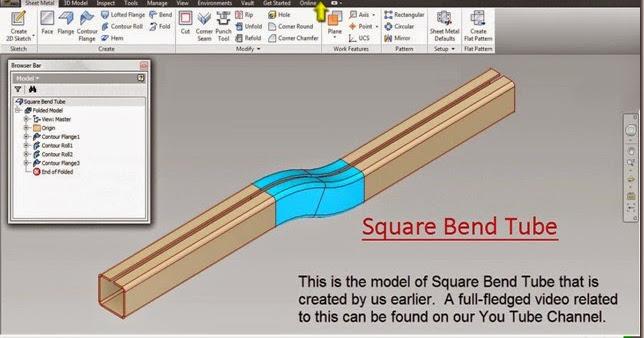 3d Solid Modelling Videos Application Of Contour Flange