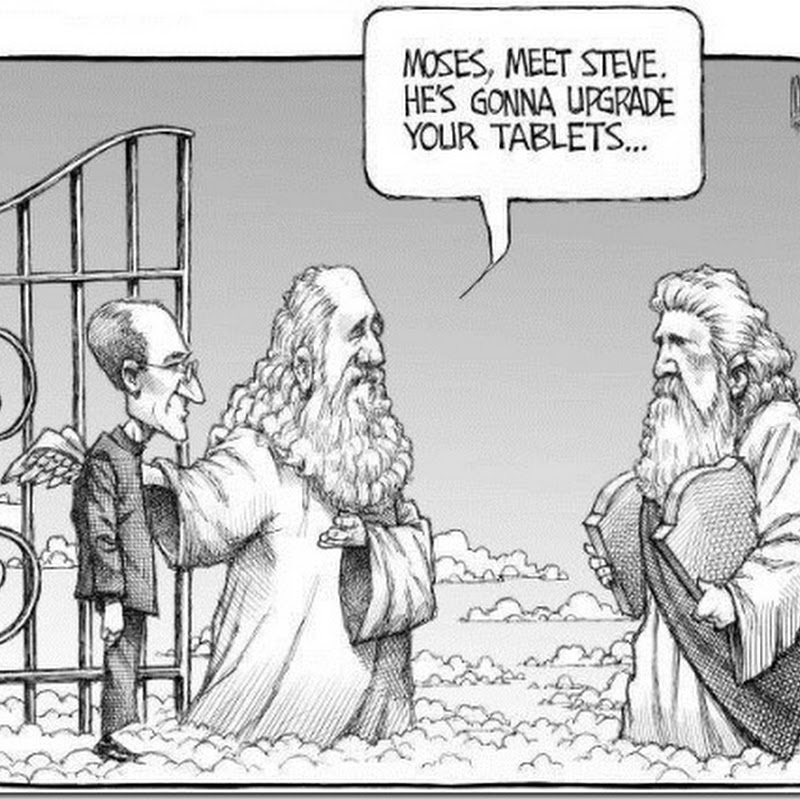 Steve Jobs lead in Heaven