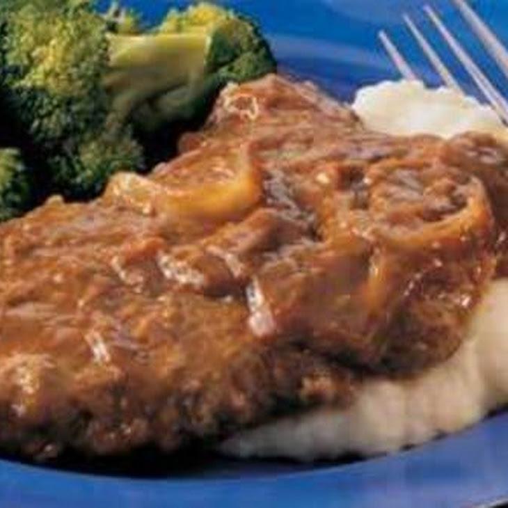 Crockpot Cubed Steaks with Gravy Recipe