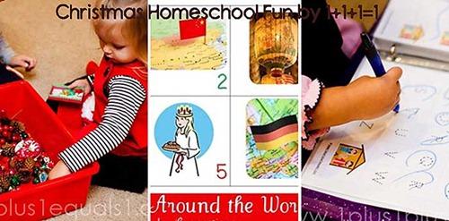 Homeschool Fun Collage