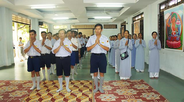 DSC06274 Lễ Hiệp kỵ   Lễ Huý Nhật Cư sĩ Sáng lập viên GĐPT Việt Nam   Tâm Minh Lê Đình Thám