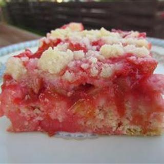 Mom's Rhubarb Cake